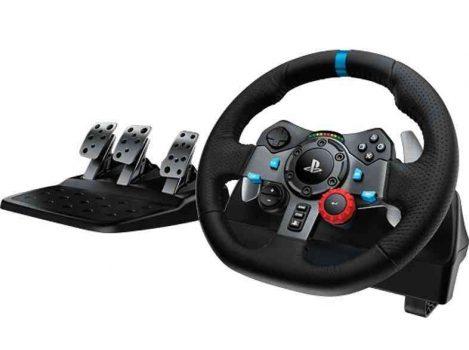 Logitech G29 ratti- ja poljinsetti vie simulaatiopelit uudelle tasolle