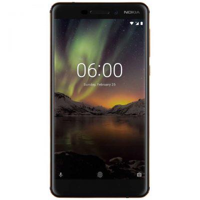 Nokia 6.1 (2018) älypuhelin 5.5 tuuman näytöllä ja keskitason suorittimella