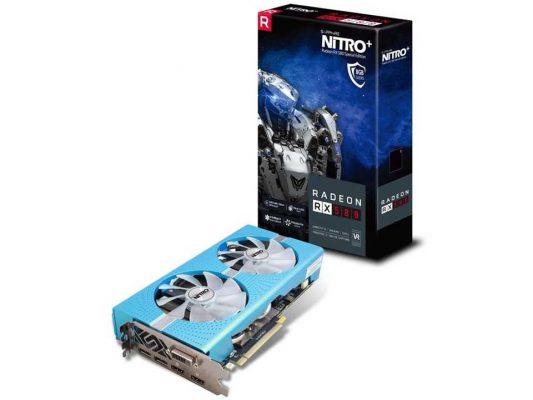 Sapphire NITRO+ RX 580 näytönohjain 8 GB: muistilla