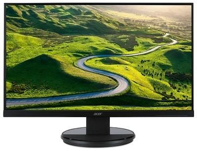 Acer K272HLEbd näyttö VA paneelilla ja full hd resoluutiolla