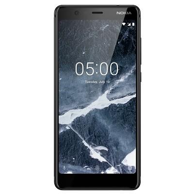 Nokia 5.1 puhelin 32 gb tallennustilalla ja sormenjälkitunnistimella