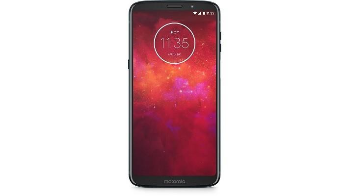 Motorola Moto Z3 Play älypuhelin isolla 6 tuuman näytöllä