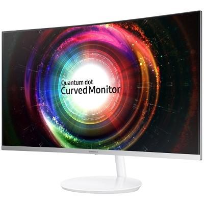 Samsung Curved C27H711 kaareva näyttö VA paneelilla ja Quantum Dot teknologialla