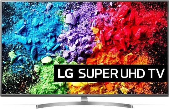 LG 49SK8100 4K-televisio, jolla on kokoa 49 tuumaa