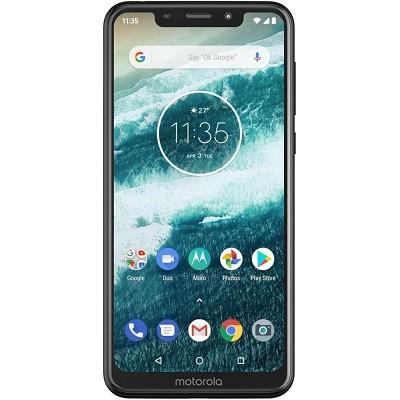 Motorola One älypuhelin lähes 6 tuuman HD -näytöllä