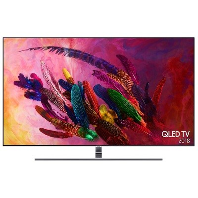 Samsung QE75Q7FNAT on iso 4K-televisio monipuolisilla liitännöillä