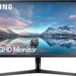 Samsung S34J550 näyttö 21:9 kuvasuhteella ja tarkalla resoluutiolla