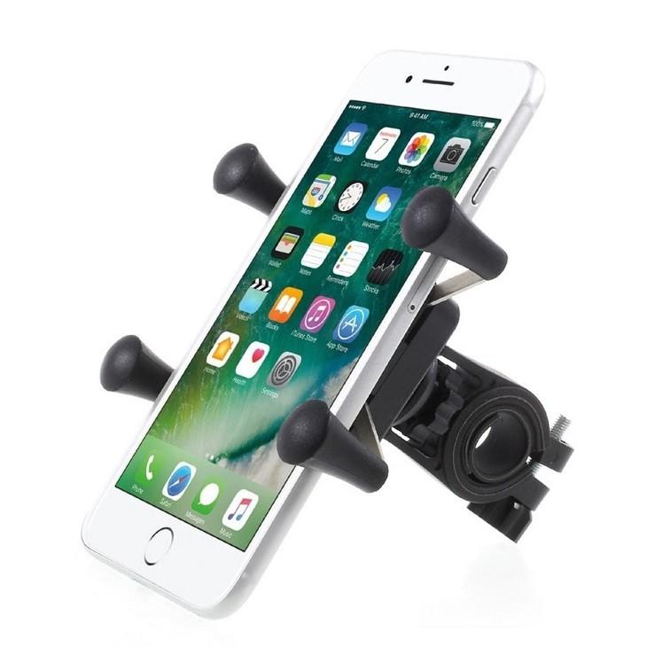 Yleinen puhelimen pidike pyörään.