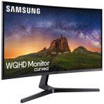 Kaareva Samsung C32JG50 pelinäyttö WQHD resoluutiolla ja 144 Hz virkistystaajuudella